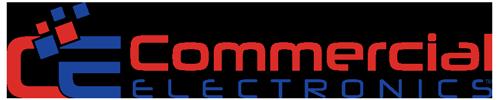 Commercial Electronics Logo Voice Recording Retina