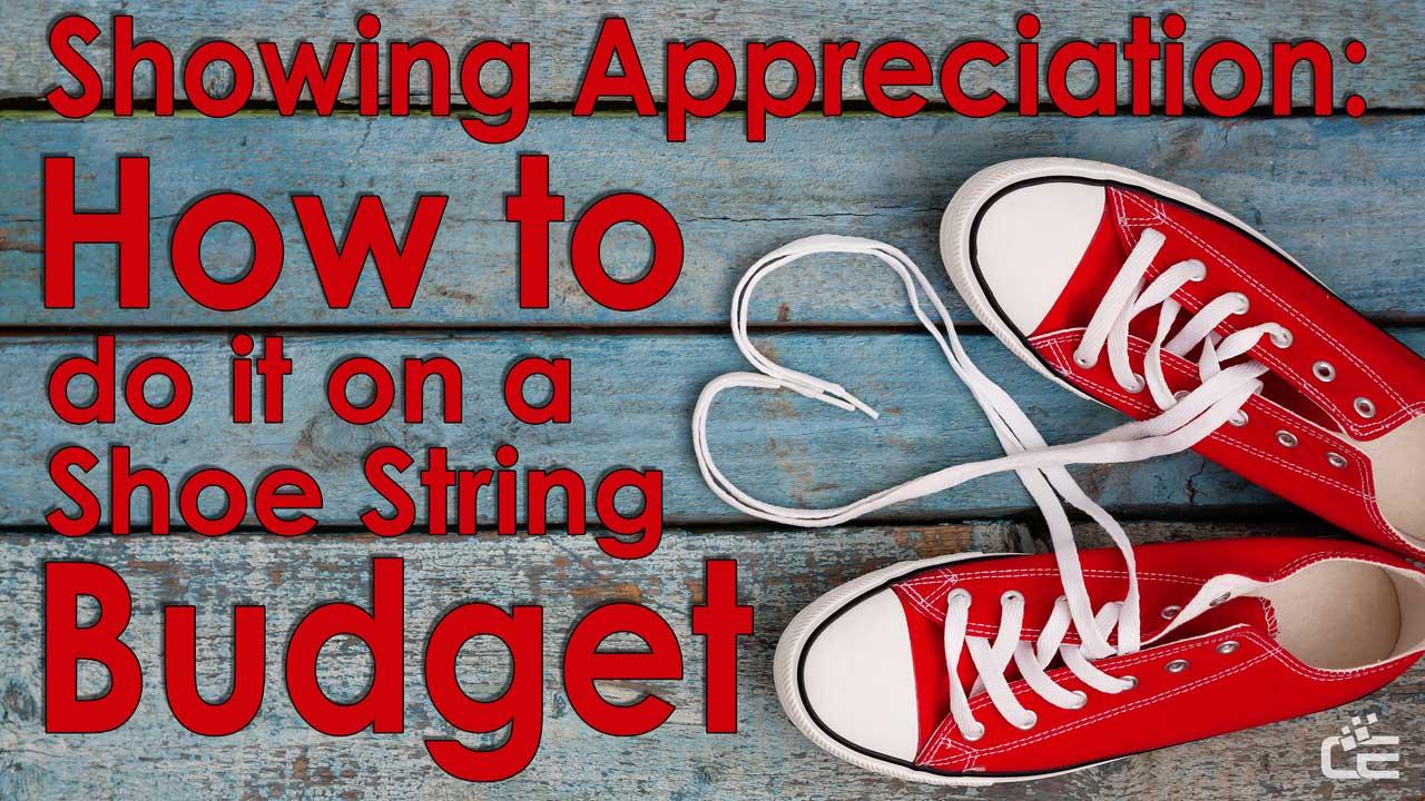 Telecommunicator Appreciation Shoe String Budget
