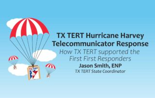 TX TERT Hurricane Harvey Telecommunicator Response