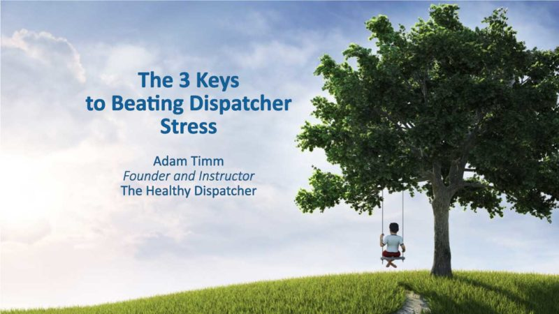3 Keys to Beating Dispatcher Distress