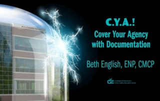 CYA! Cover Your Agency with Documentation