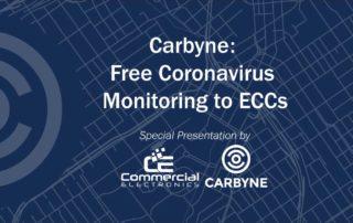 Carbyne Free Coronavirus Monitoring ECCs