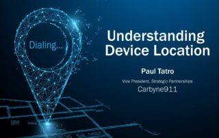 Understanding Device Location
