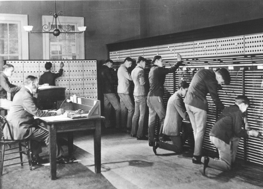 Telecommunications History Photo